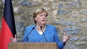 Almanya Cumhurbaşkanı'ndan Merkel'e önemli istek