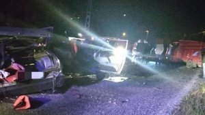 Giresun'da feci kaza: 1 ölü, 5 yaralı