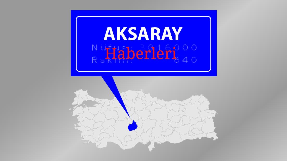 Aksaray'da eğitime bir gün 'kar' arası