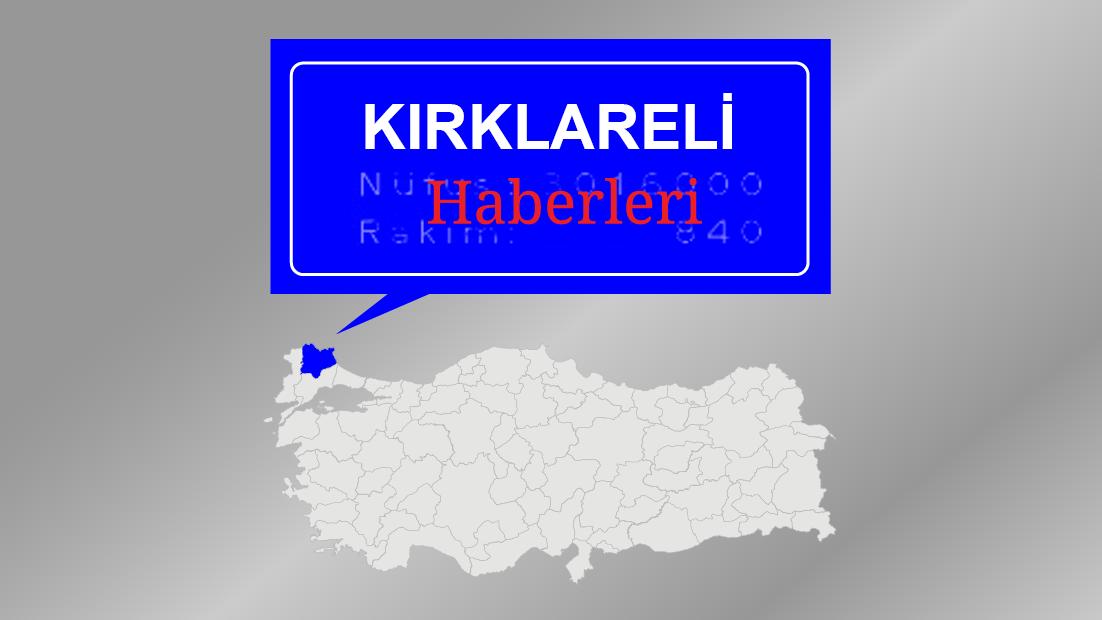 Kırklareli'de trafik kazası: 1 ölü, 2 yaralı