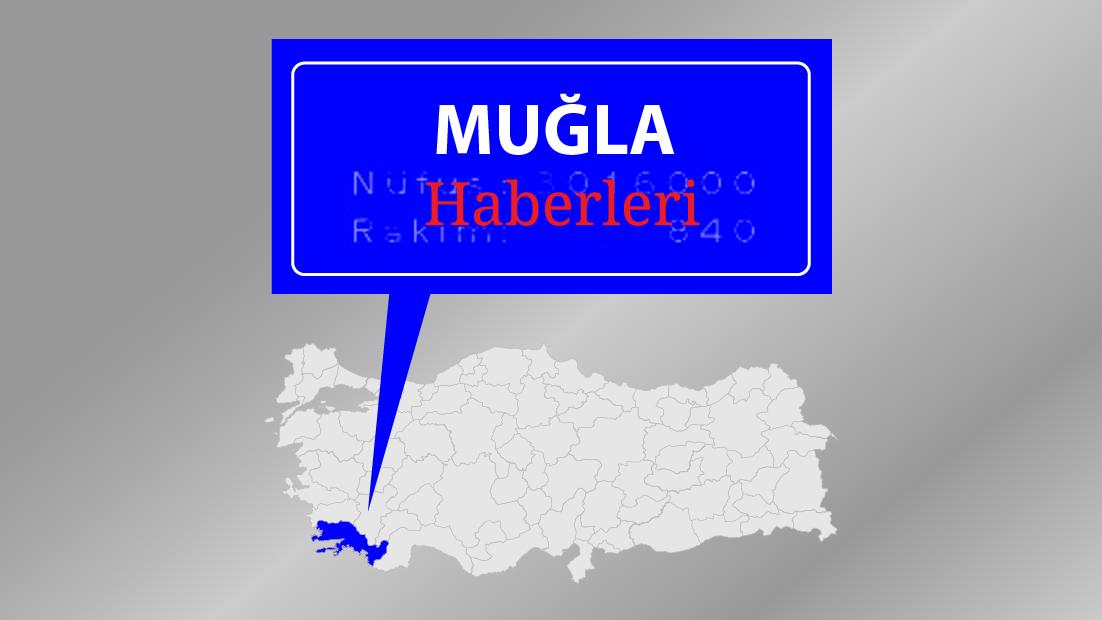 Milas'ta maden kamyonu protestosu