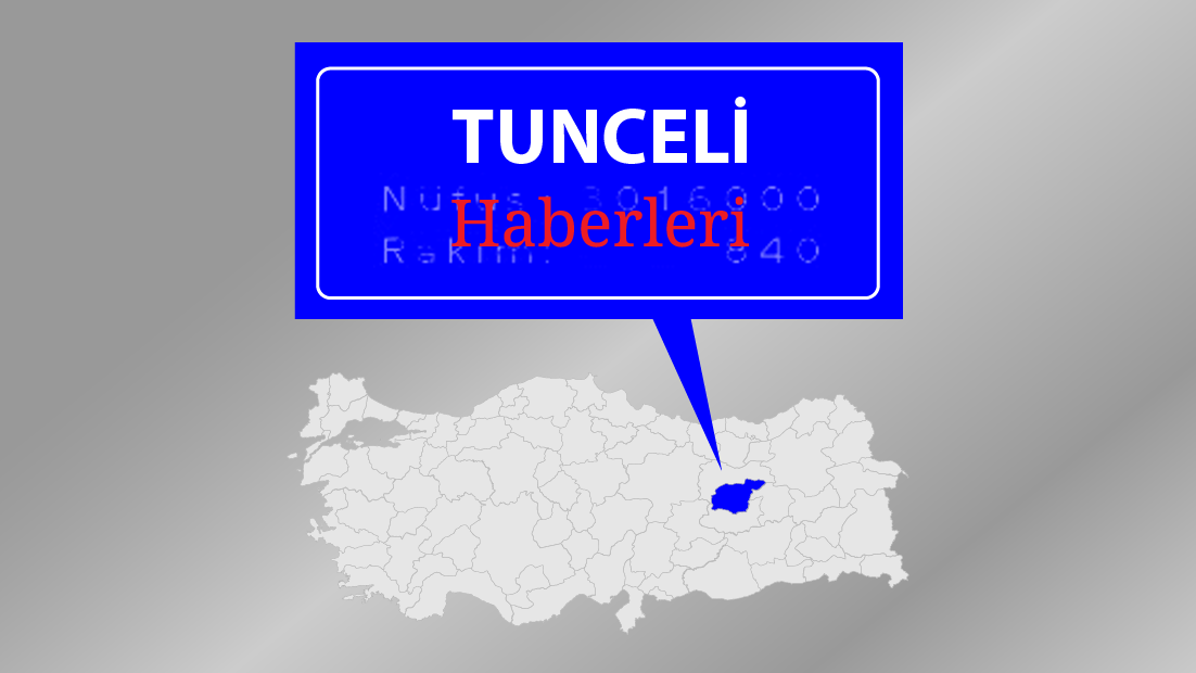 Tunceli'de yaylalara yol ve hayvanlara su desteği