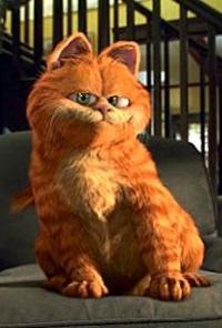 Garfield 3 Boyutlu Süper Kahraman