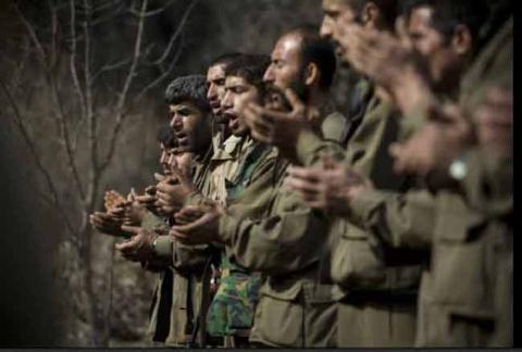 Operasyon sırasında PKK kampı