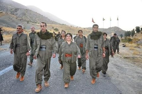PKK'lılar yola çıktı