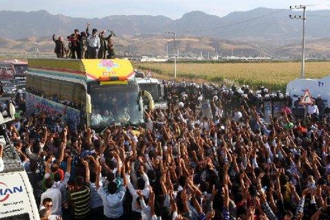 Serbest kalan PKK'lılar