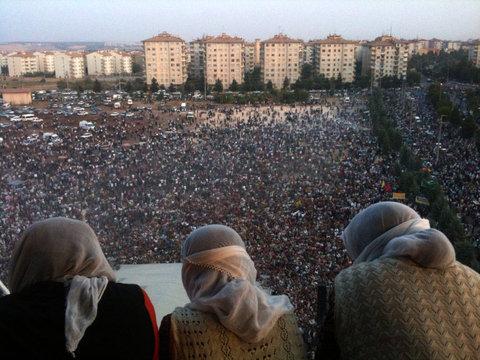 PKK'lılar Diyarbakır'da