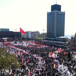 TAKSİM'DE 1 MAYIS