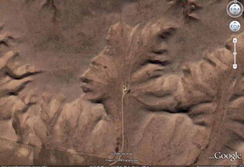 <p>Badlands Guardian (Hintli kafası) Burası Kanada'nın Alberta eyaletinde bulunan Medicine Hat'teki Badlands yöresinde görüntülendi.</p>