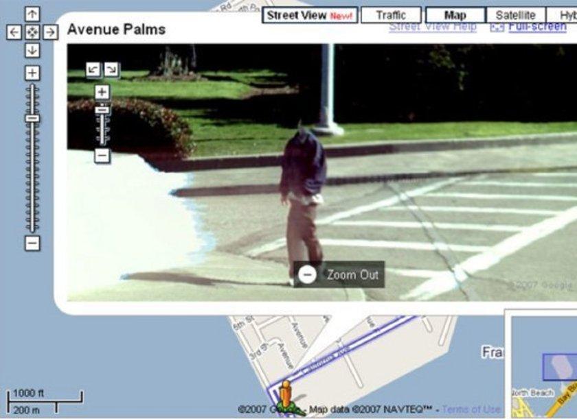 <p>San Francisco'da kafası olmayan adam</p>