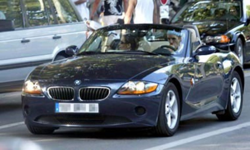 OWEN HARGREAVES BMW Z4