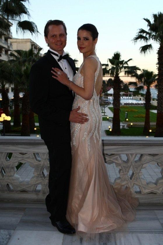 Yeni evliler Boğaz turunda