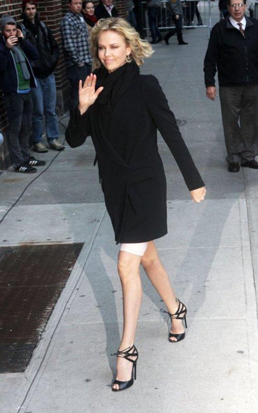 Charlize Manhattan'da..