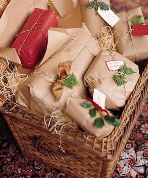 Предпочтительнее упаковать подарок по теме праздника. Если это Новый