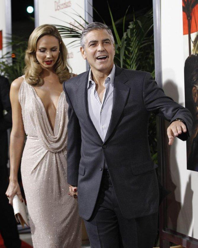 Clooney'nin aşk tatili
