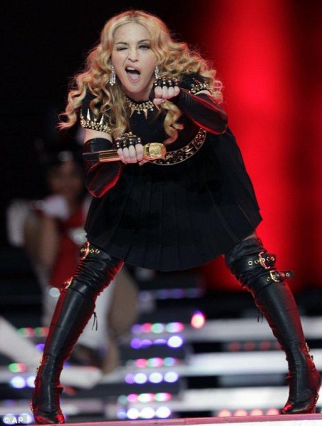 Madonna'dan muhteşem şov