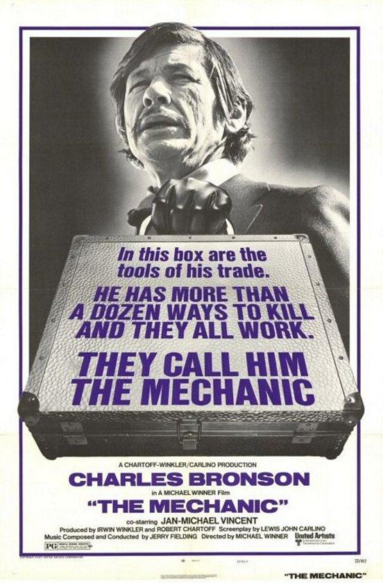 8-Mekanik (The Mechanic) (1972)\n\nSuç dünyasındaki ihanetin hikayesini kuşak çatışması üzerinden değerlendirirken, uzun bir süre hikaye dışı seslere başvurmayan dingin bir yapıt. Michael Winner'ın Charles Bronson'dan yükselen güçle üzerine gittiği bu eser, fazlasıyla Hollywood'a sızamayacağını düşündüğümüz 'sanatsal kiralık katil filmleri'nin üslubunu akla getiriyor. Bu da elbette Winner'ın cüretine verilmeli.