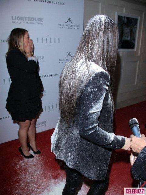 Kim Kardashian'a saldırı!