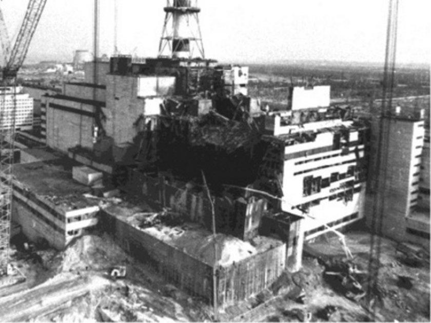 \n\n* Çernobil nükleer santralı patlamamıştı.