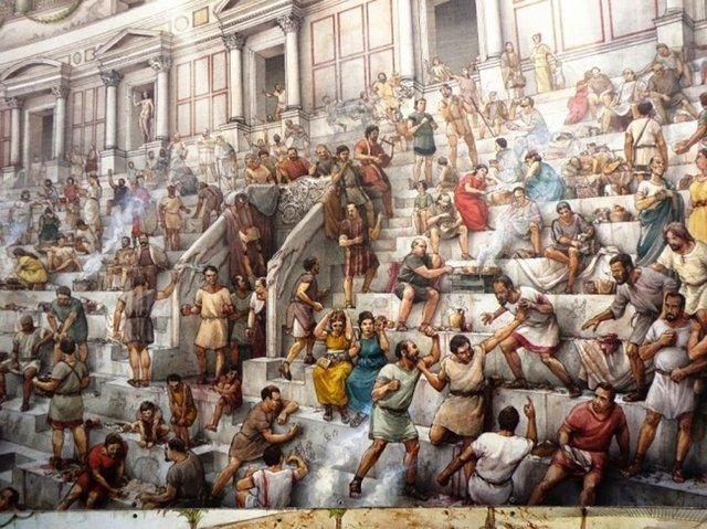 Roma imparatoru Commodus, imparatorluktaki tüm engelli insanları Roma'ya toplayıp Collesium'da ölümüne dövüştürmüştür.