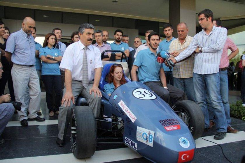 İşte Türkiye'nin ilk Formula aracı