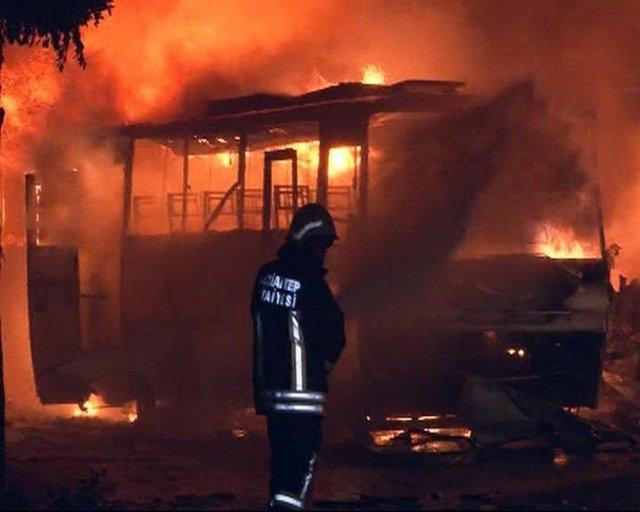 Patlamanın ardından Gaziantep