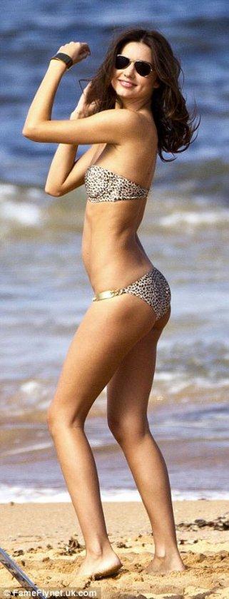 Miranda plajda coştu