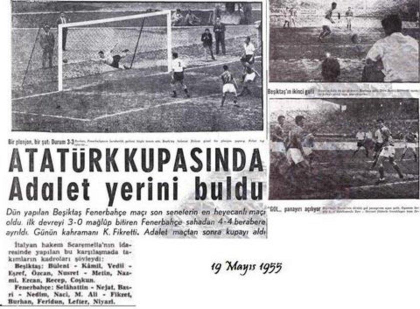 EN GOLLÜ MAÇLAR Ezeli rakipler arasında geride kalan 328 maçta penaltılar hariç en fazla golün atıldığı karşılaşmada sporseverler toplam 9 gol izledi.