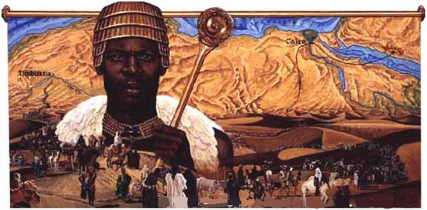 Mansa Musa (1280-1337) 400 MİLYAR DOLAR \nMansa Musa, 1312-1337 yıları arasında Afrikada'ki Mali İmparatorluğu'nun başındaydı. Yönetimi altındaki topraklar bugünkü Timbuktu, Gana ve Mali'yi kapsıyordu. Dönemin Avrupalı haritacıları, hazırladıkları haritalarda Musa'yı Batı Afrika'nın ortasında tahtında otururken sağ elinde bir altın külçesi tutarken gösterdi.