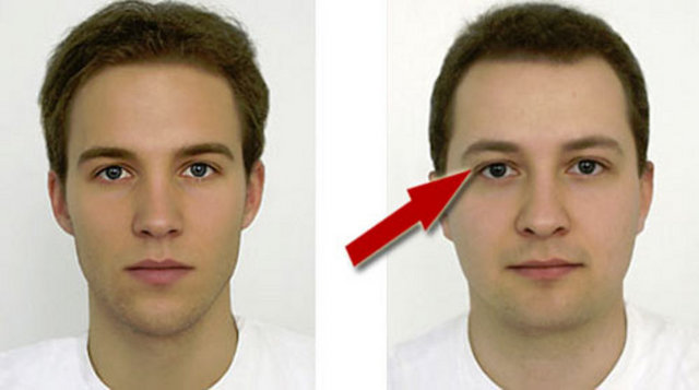 Russian facial features men