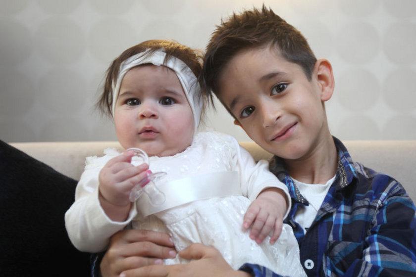 Nil Duru (5,5 aylık),(Mert 6 yaşında)
