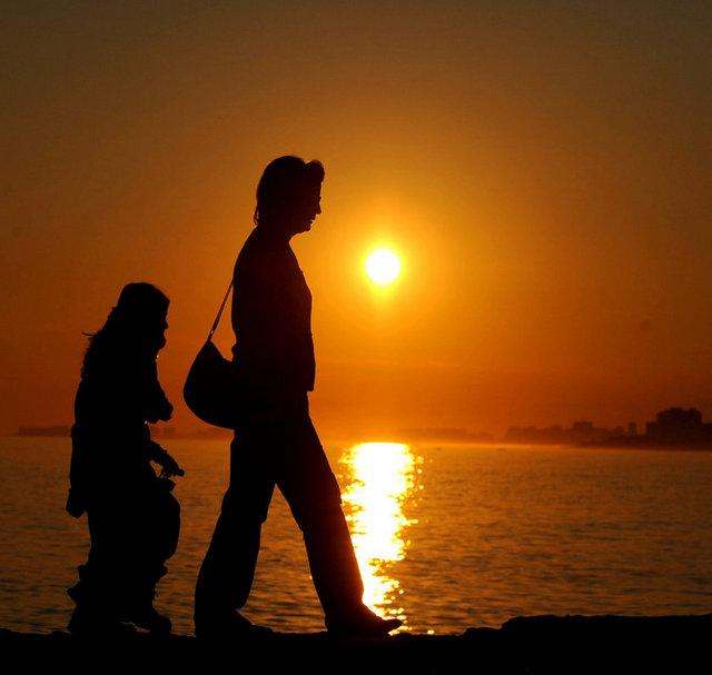 Mersin'de gün batımı