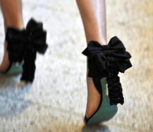 Бант на туфли своими руками 1