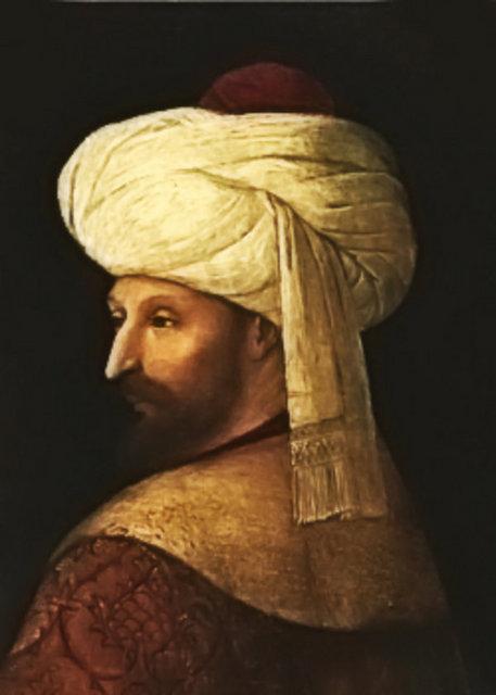 1451 yılında Osmanlı padişahı II. Mehmed (Fatih Sultan Mehmet) tahta geçti.