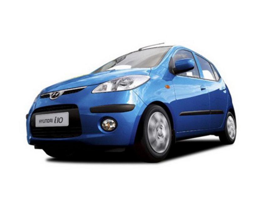 Hyundai i10 1.1 100 Km'de 4.7lt yakıt tüketiyor.