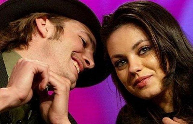 Demi Moore ile boşandıktan Mila Kunis'le ilişki yaşamaya başlayan ünlü oyuncu Ashton Kutcher yeni ilişkisinde mutluluğu yakaladı.
