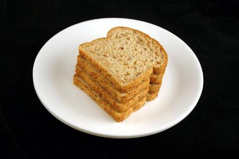 90 gram kepekli ekmek = 200 kalori