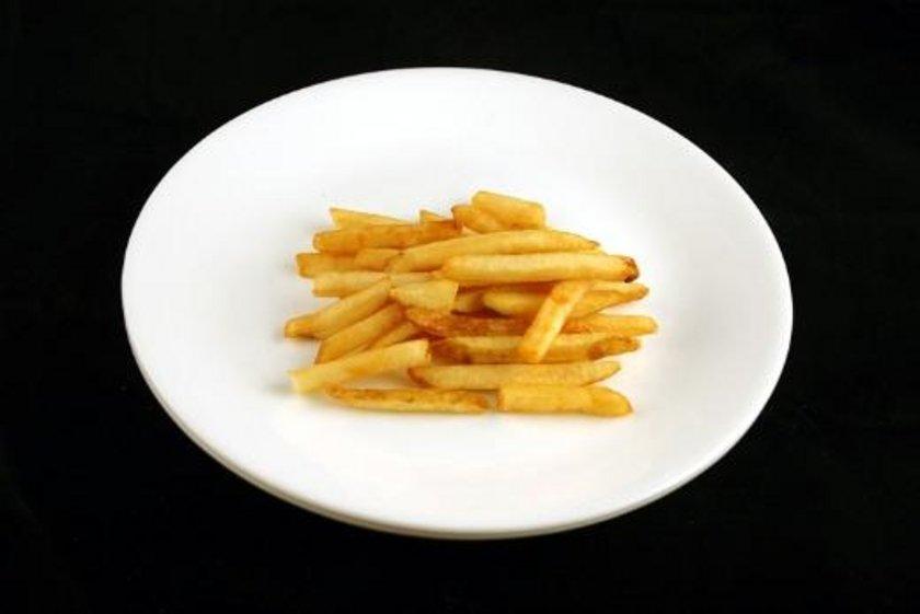 73 gram patates kızartması = 200 kalori