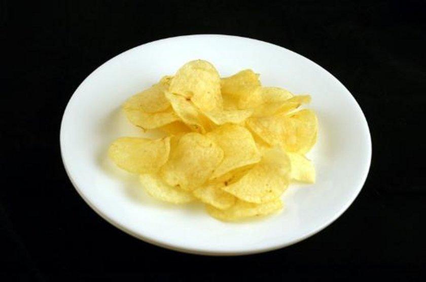 37 gram patates cipsi = 200 kalori