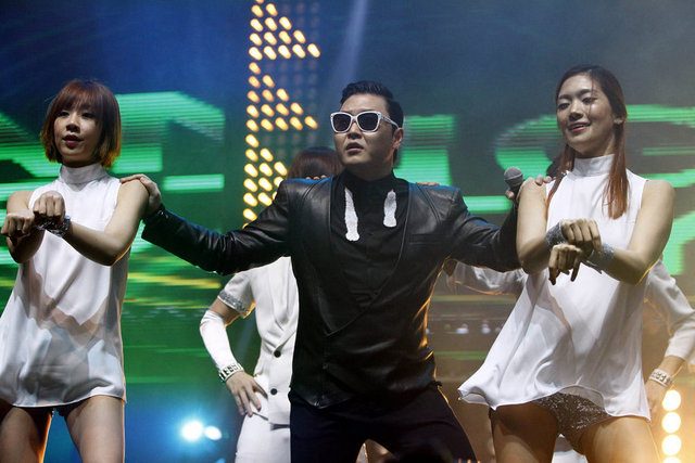 İstanbul'da ''Gangnam Style'' rüzgarı
