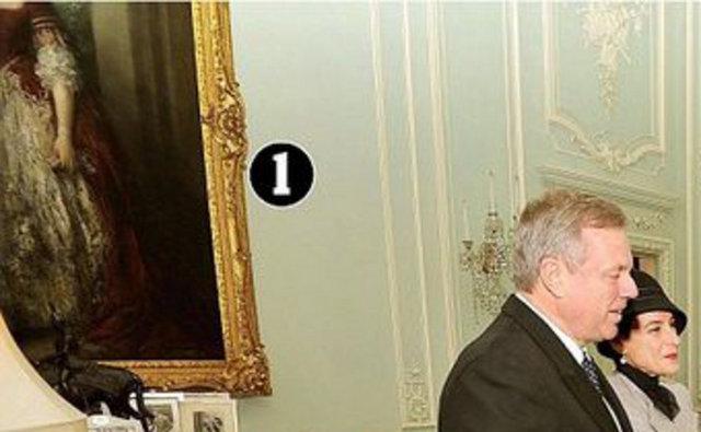 01: Cumberland Düşesi Anne'in Thomas Gainsborough tarafından yapılan portresi. Değeri: 5 milyon sterlin (13,7 milyon TL)