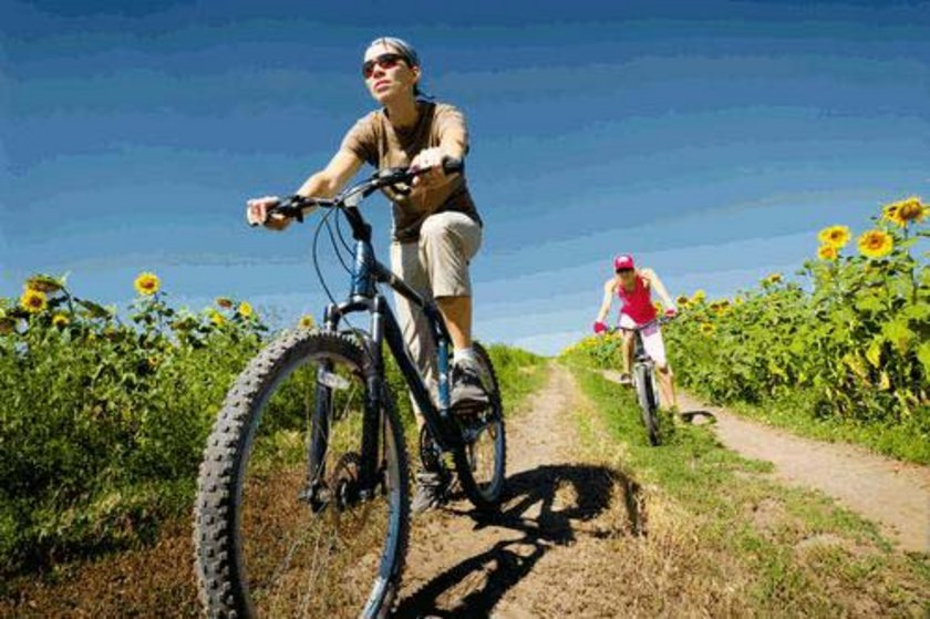 Bisiklete binmek - 30 dak - 315 kalori