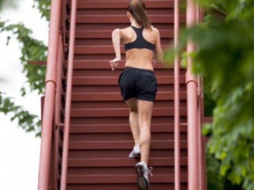 Merdiven çıkmak - 15 dak - 18 kalori