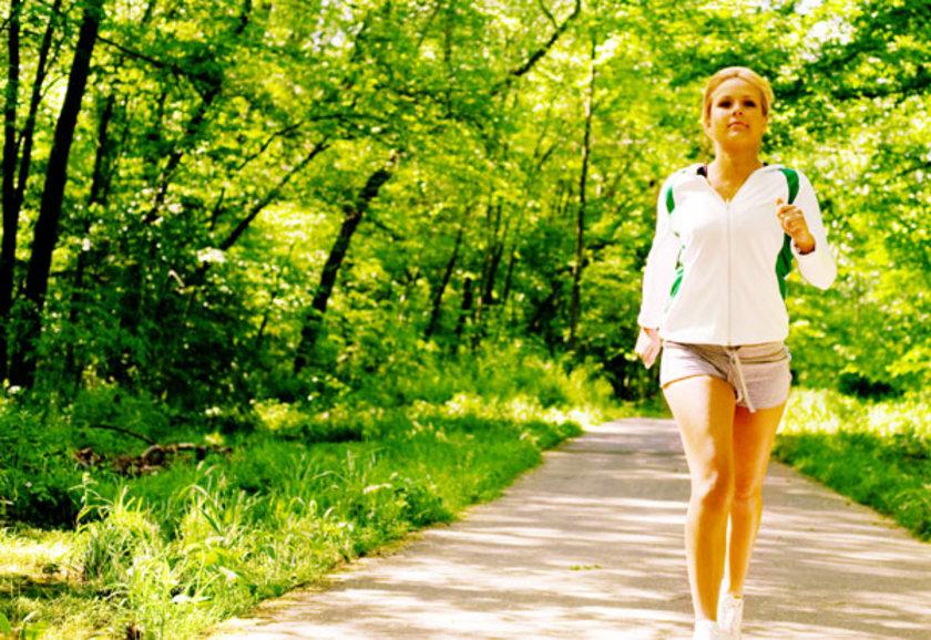 Yürüyüş yapmak - 20 dak - 72 kalori