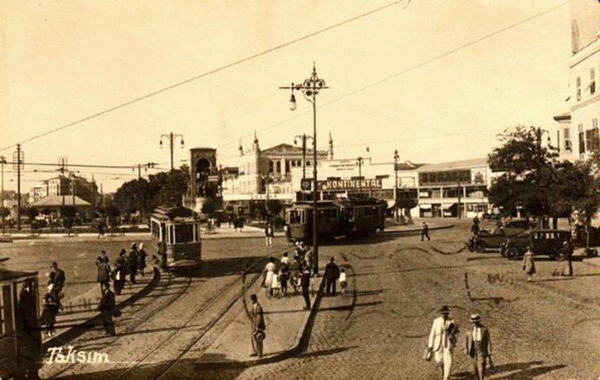 <p>Taksim Meydanı (1930'lu yıllar)</p>