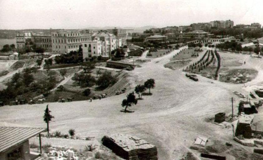 <p>Elmadağ'dan Taşkışla'ya Bakış (1950 öncesi)</p>