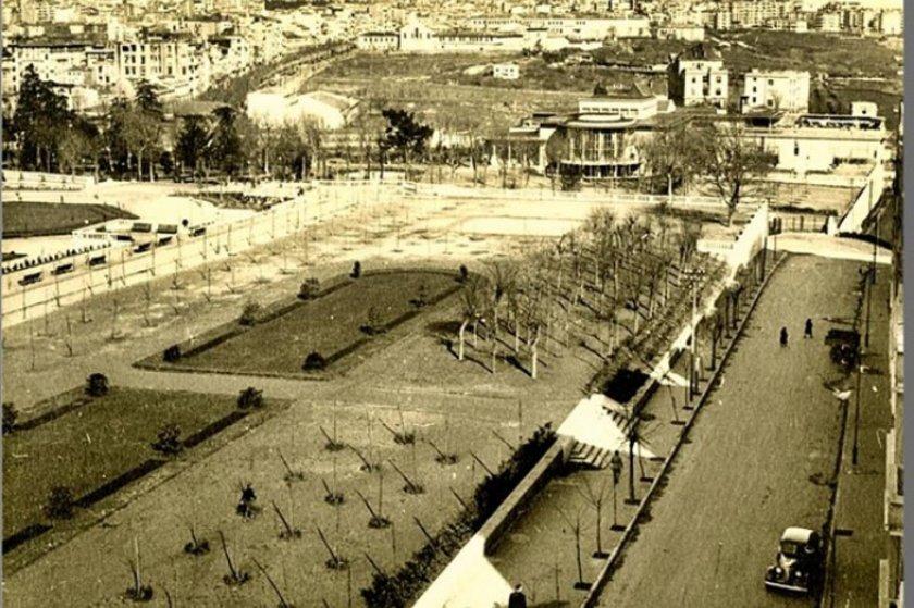 <p>Taksim Gezi Parkı - 1944'ler</p>