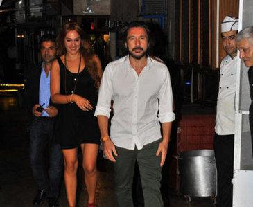 meryem uzerli and her husband holidays oo