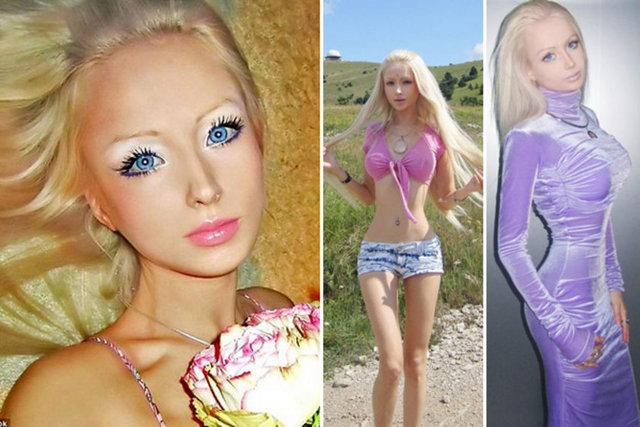 Девушка с внешностью барби : Красивые девушки.