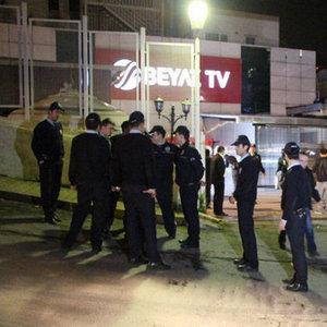 BEYAZ TV'YE BASKIN